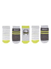 On A Roll Socks 5 Pack