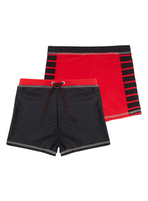 Knitted Swim Shorts 2 Pack (1 - 12 years)