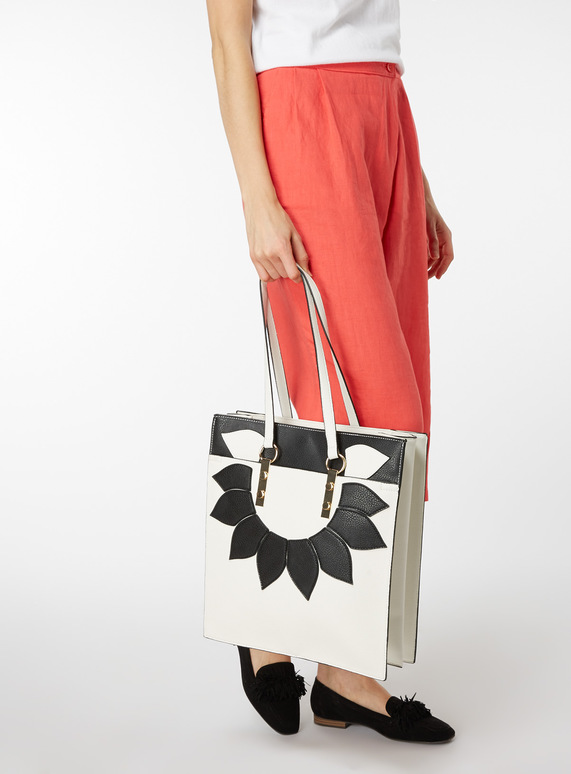 Floral Shopper Shoulder Bag