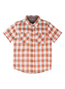 Boys Multicoloured Checked Shirt (9 months-5 years)