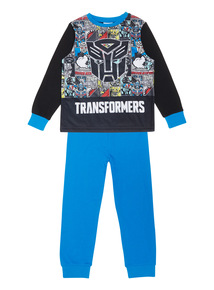 Blue Transformers Pyjama Set (2-10 years)