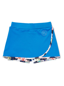 Blue Flower Dance Skort (3-14 years)