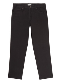 Black Canvas Trousers