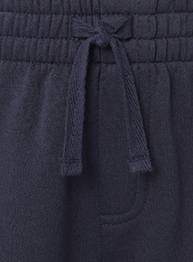 Navy Sweat Shorts 2 Pack (3 - 16 years)