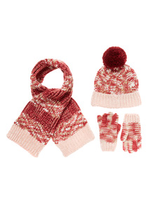 Pink and Red Three Piece Berry Set (1-12 years)