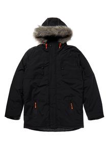 Black Performance Coat (3-14 years)