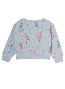 Grey Ballet Sweatshirt (3-14 years)