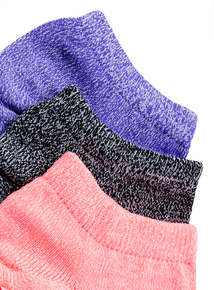 3 Pack Sports Trainer Socks