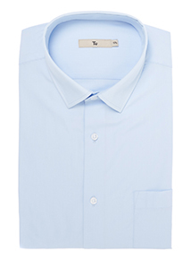 Blue Cotton Rich Shirts 2 Pack
