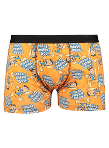 The Flintstones Orange & Blue Trunks