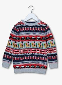 Multicoloured Fairisle Knit Jumper (9 Months - 6 Years)
