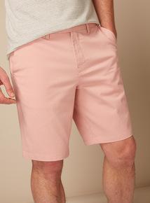 Premium Pastel Pink Chino Shorts