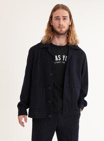 GFW Navy Pinstripe Jacket