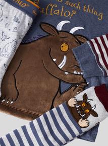 The Gruffalo Long Sleeve Pyjama Set With Socks (1.5 - 6 Years)