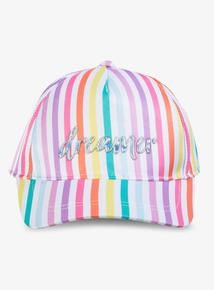 2b5a9fc500a6e Multicoloured Rainbow Stripe Cap (1-13 Years)