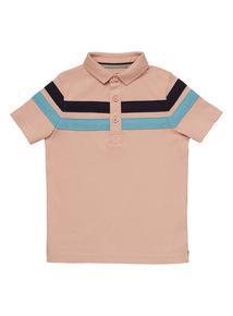 Multicoloured Stripe Polo Shirt (3 - 12 years)