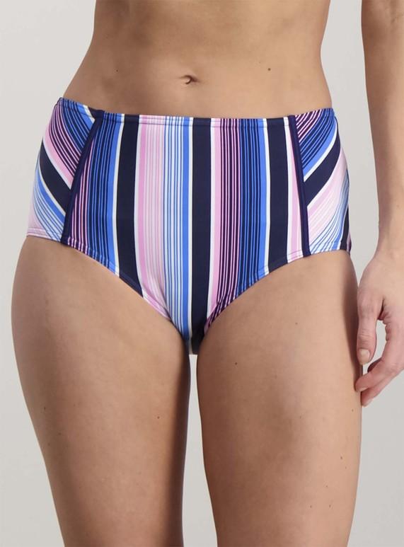 af2ac47a1977c Womens Multicoloured Striped High Waisted Bikini Briefs | Tu clothing
