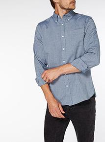 Blue Oxford Denim Shirt