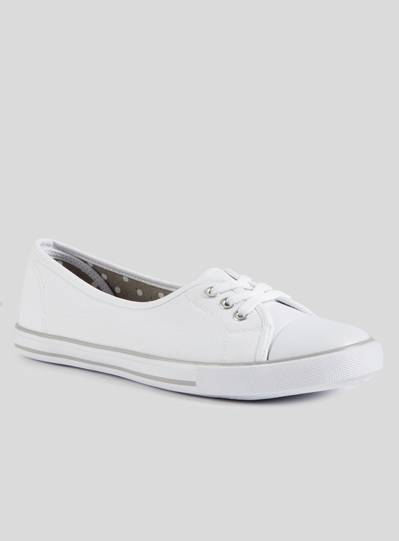 top-rated authentic new release purchase genuine SKU: SS19 VOLUME PLAIN LOW LACE PUMP:White