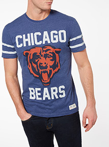 Blue NFL Bears Tee