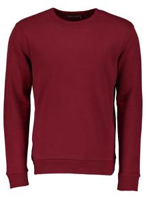 Burgundy Crew Sweatshirt