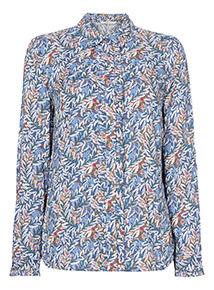 Floral Printed Western Shirt
