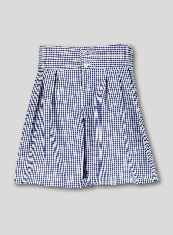 e3197ce90 Kids Navy Gingham School Culottes (3-14 years) | Tu clothing