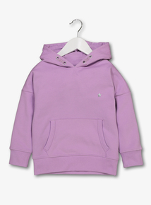 Lilac Hooded Sweatshirt (3-14 years)