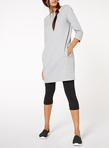 Grey Urban Tunic Sweat