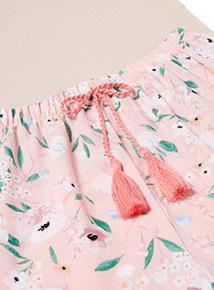 Coral Oriental Pyjama Set (3-14 years)