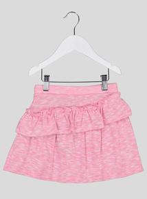 Pink Marl Ra Ra Skirt (3-14 years)