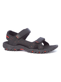 Black Trekker Sandals