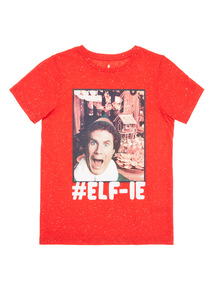 Red Elf Christmas Tee (3-14 years)