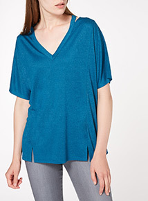 Notch Neck Spa Tee