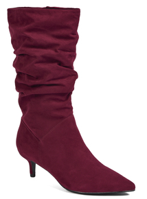 Online Exclusive Red Slouch Boots