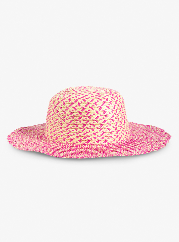 e27ae4b1 Kids Multicoloured Scallop Twist Floppy Straw Hat (1-13 Years) | Tu clothing