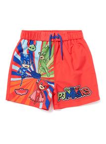Multicoloured PJ Masks Swim Shorts (18 months - 7 years)