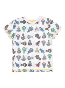 Boys Multicoloured Lego Batman T-Shirt (5-12 years)