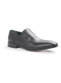 Black Formal Slip On Shoes