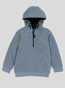 Grey Hooded Fleece (3-14 Years)