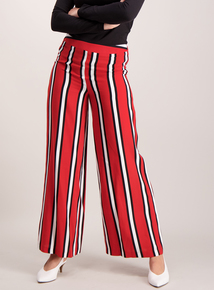 Red Stripe Trousers