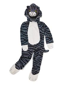 Kids Grey Mog the Cat Costume (1-8 years)