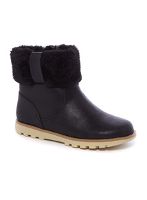 Faux Fur Boots (10 Infant - 4)