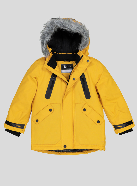 e175d501acec Kids Yellow Padded Performance Coat (3-14 years)