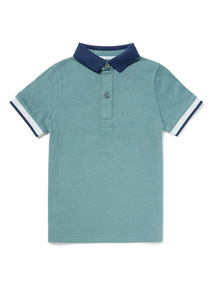 Green Polo Shirt (3-14 years)