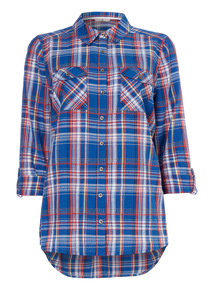 Multicoloured Checked Shirt