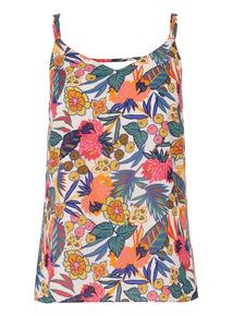 Multicoloured Double Strap Camisole