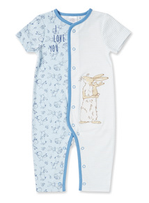Blue 'Guess How Much I Love You' Romper (Newborn-24 months)