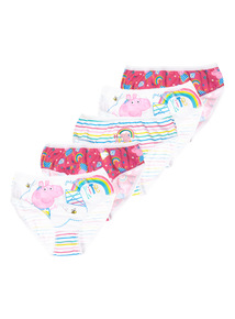 Peppa Pig Briefs 5 Pack (18 months - 5 years)
