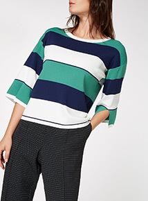 MultiColoured Stripe Tee